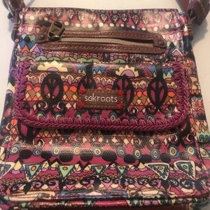 Sakroots cross body purse